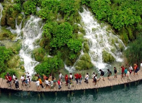 national park plitvice lakes trip excursion zagreb wayoudo